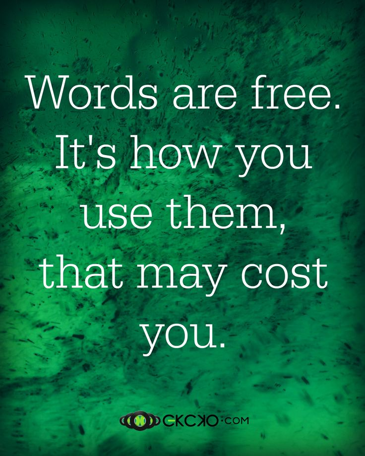 cost of free words use